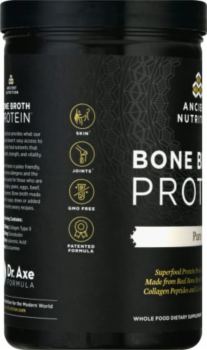 Ancient Nutrition Protein Pure Bone Broth Perspective: left