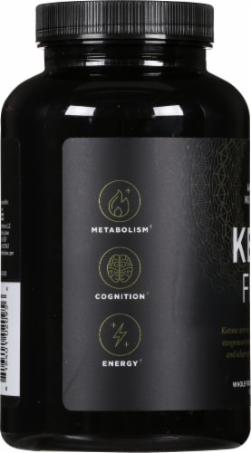 Ancient Nutrition KetoFIRE Ketone Activator Capsules Perspective: left