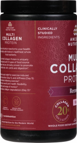 Ancient Nutrition Rest + Recovery Multi Collagen Protein Perspective: left