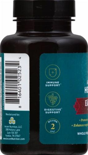 Ancient Nutrition Ancient Herbals Elderberry +Probiotics Capsules 60 Count Perspective: left