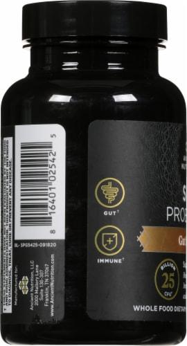 Ancient Nutrition Gut Restore SBO Probiotics Capsules Perspective: left