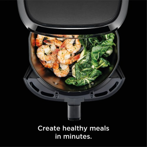 Chefman TurboFry Touch Digital Air Fryer - Black Perspective: left