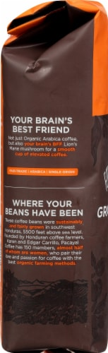 Four Sigmatic Mushroom Coffee Mix Dark Roast Ground Coffee Perspective: left