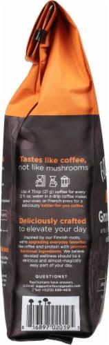 Four Sigmatic Mushroom Coffee Mix Dark Roast Ground Coffee Perspective: left