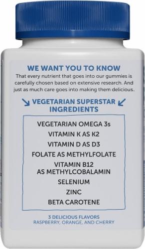 SmartyPants Organic Men's Formula Multifunction Dietary Supplement Gummies Perspective: left