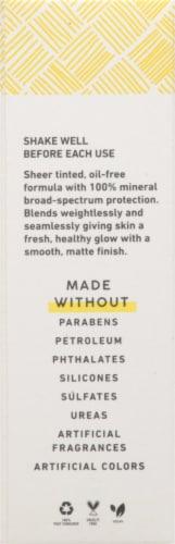 MyChelle® Dermaceuticals Natural Tan Sun Shield Liquid Tint SPF 50 Perspective: left
