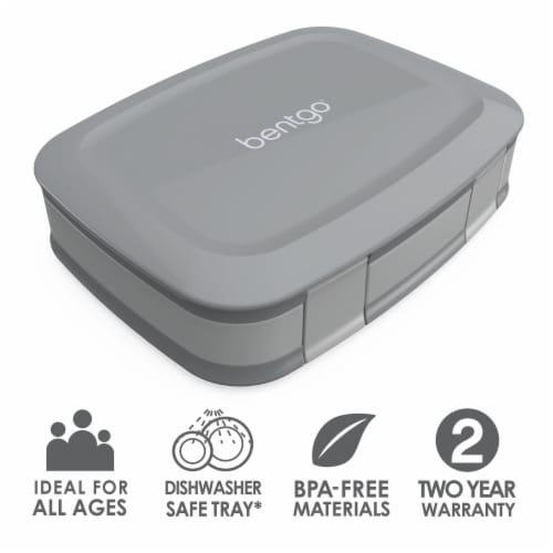 Bentgo Fresh Bento Box - Gray Perspective: left