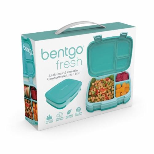Bentgo Fresh Bento Box - Turquoise Perspective: left