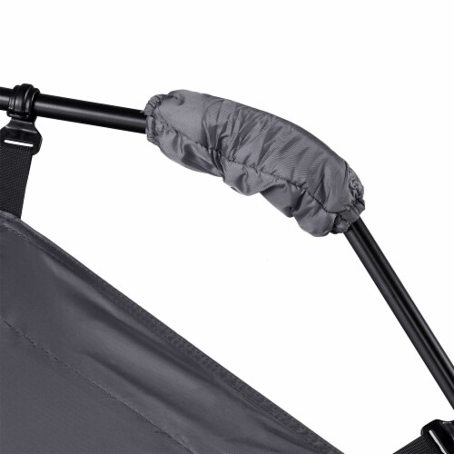 CORE Instant Cabin 11 x 9 Foot 6 Person Cabin Tent with Air Vents and Loft, Red Perspective: left