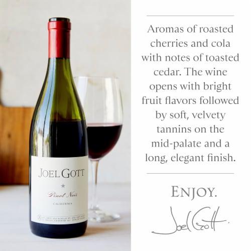 Joel Gott Pinot Noir Red Wine Perspective: left