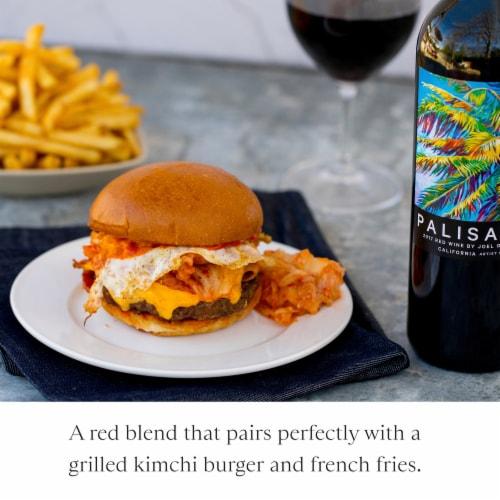 Joel Gott Palisades California Artist Series Red Wine 750mL Wine Bottle Perspective: left