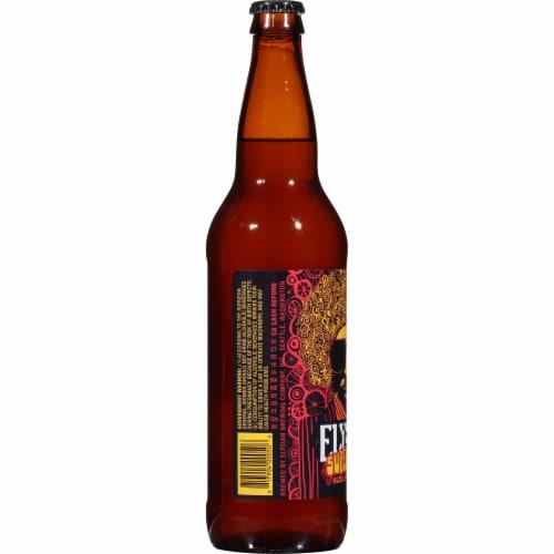 Elysian Super Fuzz Blood Orange Pale Ale Perspective: left