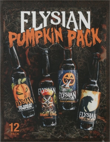 Elysian Brewing Company Pumpkin Beer Variety Pack Perspective: left
