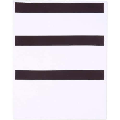 Large Magnetic Grocery, Shopping List Notepads for Fridge (156 Sheets, 3-Pack) Perspective: left