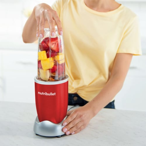 NutriBullet PRO Nutrient Extractor - Red Perspective: left