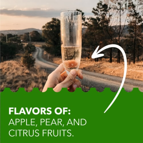 Simple Truth™ Italia Prosecco Sparkling Wine Bottle Perspective: left