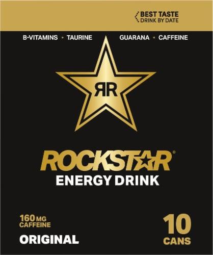Rockstar Original Energy Drinks Perspective: left