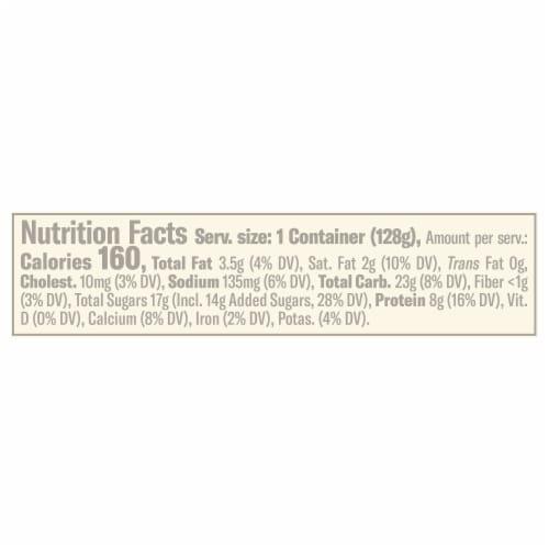 Chobani Flip Salted Caramel Crunch Low-Fat Greek Yogurt Perspective: left