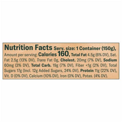 Chobani® Coffee & Cream Blended Greek Yogurt Perspective: left
