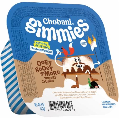 Chobani Gimmies Ooey Gooey S'More Yogurt Crunch Perspective: left