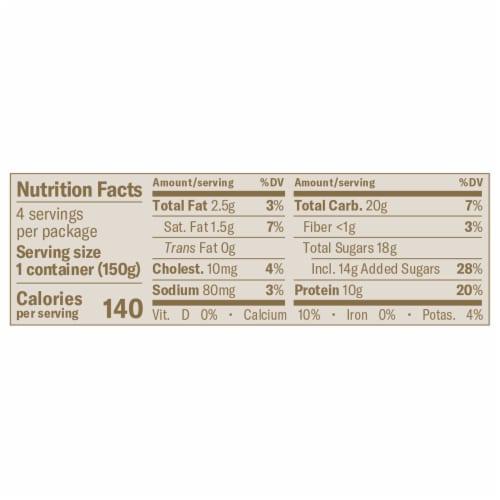 Chobani® Mixed Berry on the Bottom Low Fat Vanilla Greek Yogurt Perspective: left