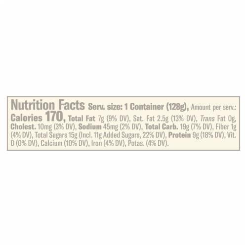 Chobani Flip Rocky Road Low-Fat Greek Yogurt Perspective: left