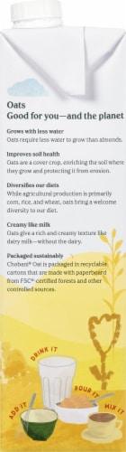 Chobani Oat Milk Plain Oat Drink Perspective: left
