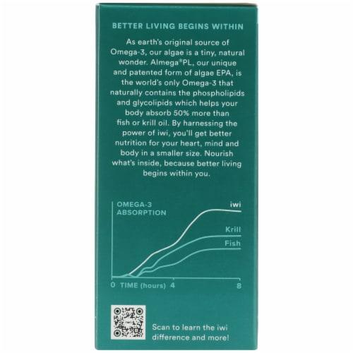 iWi Algae-Based Omega-3 Minis Perspective: left