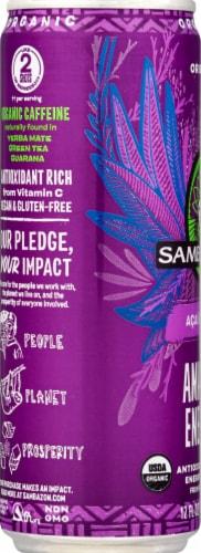 Sambazon Amazon Energy® Original Acai Berry Energy Drink Perspective: left