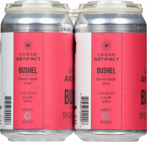 Urban Artifact Keypunch Key Lime Gose Sour Beer Perspective: left