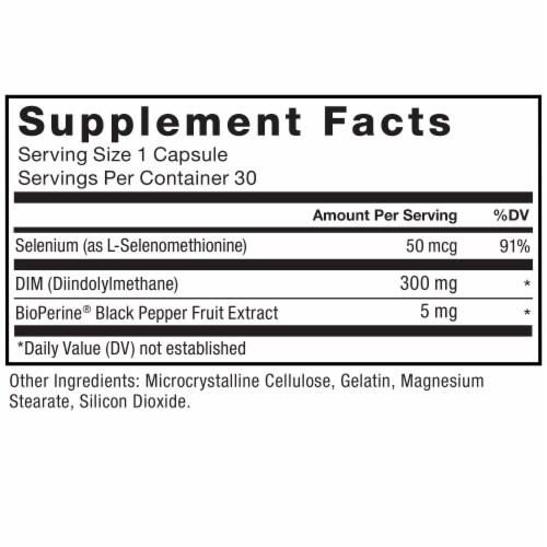 Force Factor DIM Supplements Perspective: left