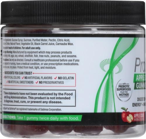 Force Factor® ProbioSlim Apple Cider Vinegar Gummies Perspective: left