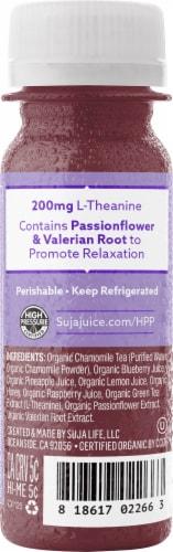 Suja Organic Chamomile & Valerian Root Relax Juice Shot Perspective: left
