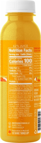 Suja Organic Citrus Immunity Cold-Pressed Juice Perspective: left