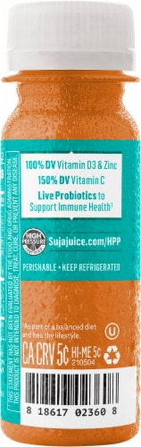 Suja Vitamin D and Zinc Shots Perspective: left