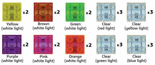 E-Blox Circuit Blox LED Light Blocks Perspective: left