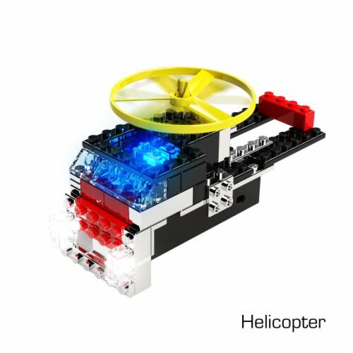 E-Blox Power Blox Light 'N Flight Building Toy Perspective: left