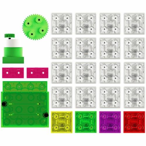 E-Blox Lights N' Motion LED Building Blocks Perspective: left