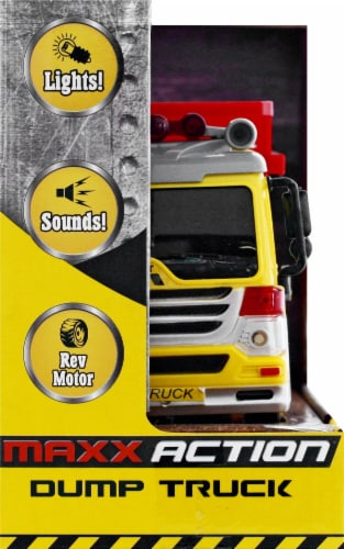 Sunny Days Maxx Action Toy Dump Truck Perspective: left