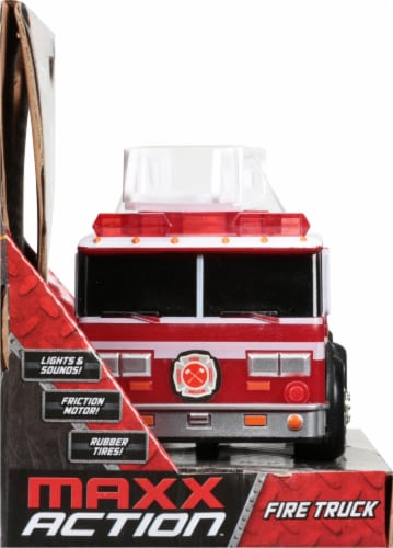 Maxx Action Rescue Fire Truck Perspective: left