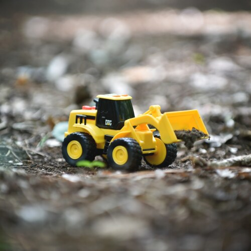 Maxx Action Mini Construction Series Vehicle Front End Loader Perspective: left