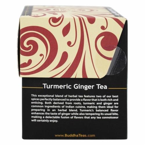 Buddha Teas Organic Turmeric Ginger Tea Perspective: left