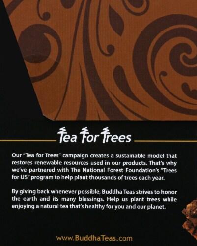 Buddha Teas Organic Chaga Herbal Tea Perspective: left