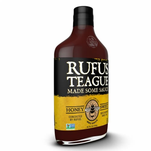 Rufus Teague Honey Sweet BBQ Sauce Perspective: left