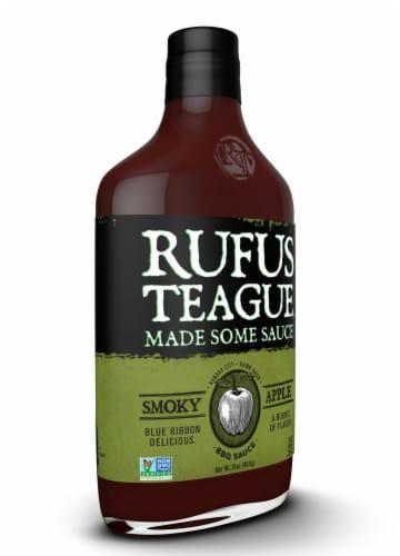 Rufus Teague Apple Mash BBQ Sauce Perspective: left