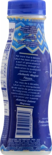 LaLa Pina Colada Flavored Probiotic Yogurt Smoothie Perspective: left