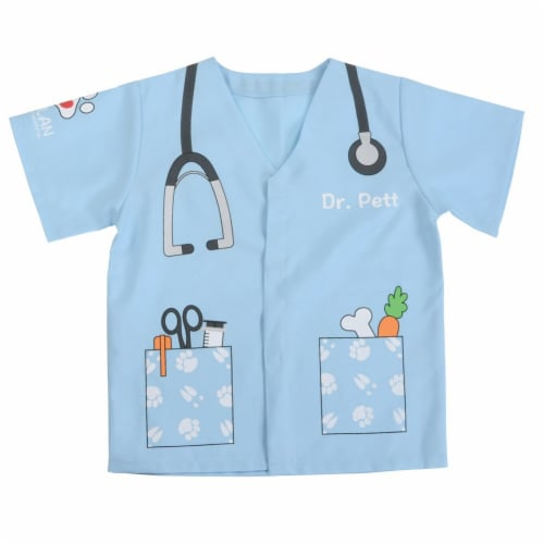 Kaplan Early Learning When I Grow Up Career Preschool Shirts - Set of 6 Perspective: left