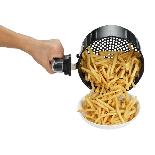GoWISE USA GW22661 2.75-Quart Digital 50 Recipes for your Air Fryer Book, Mint Perspective: left