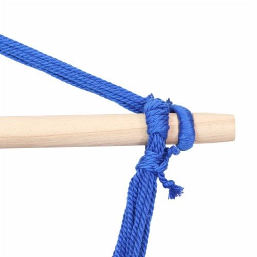 Sunnydaze Indoor-Outdoor Hanging Hammock Swing and 2 Cushions - Oasis - Set of 2 Perspective: left