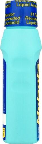 Mylanta® Vanilla Caramel Flavor Maximum Strength Antacid + Anti-Gas Liquid Perspective: left